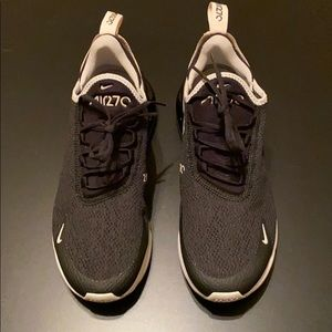Nike Air Max 270 Black Bone Women's Size 8